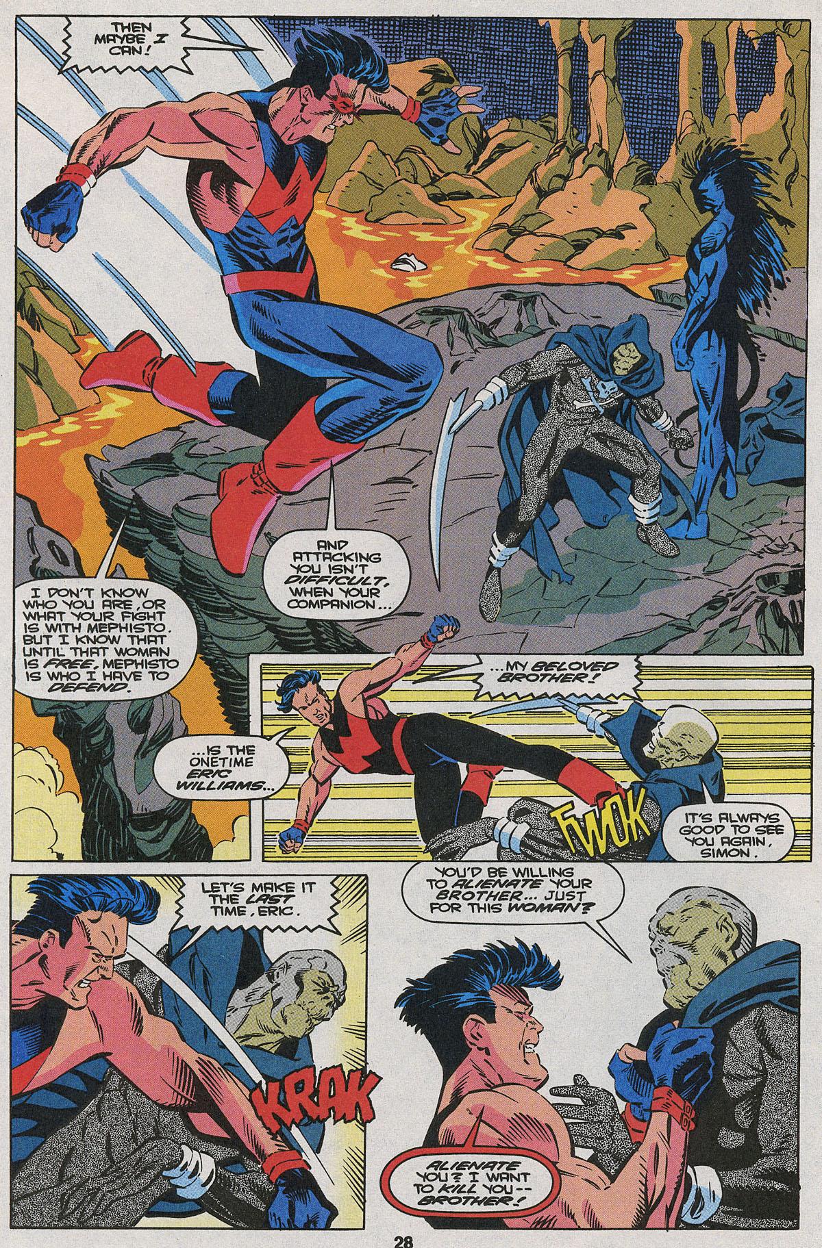 Read online Wonder Man (1991) comic -  Issue #22 - 20