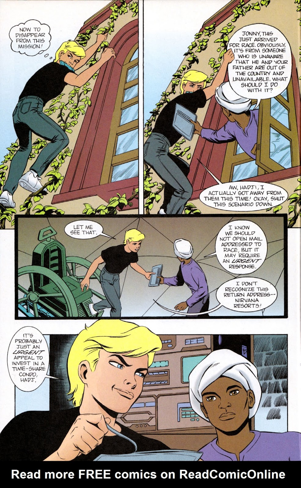 Read online The Real Adventures of Jonny Quest comic -  Issue #9 - 14