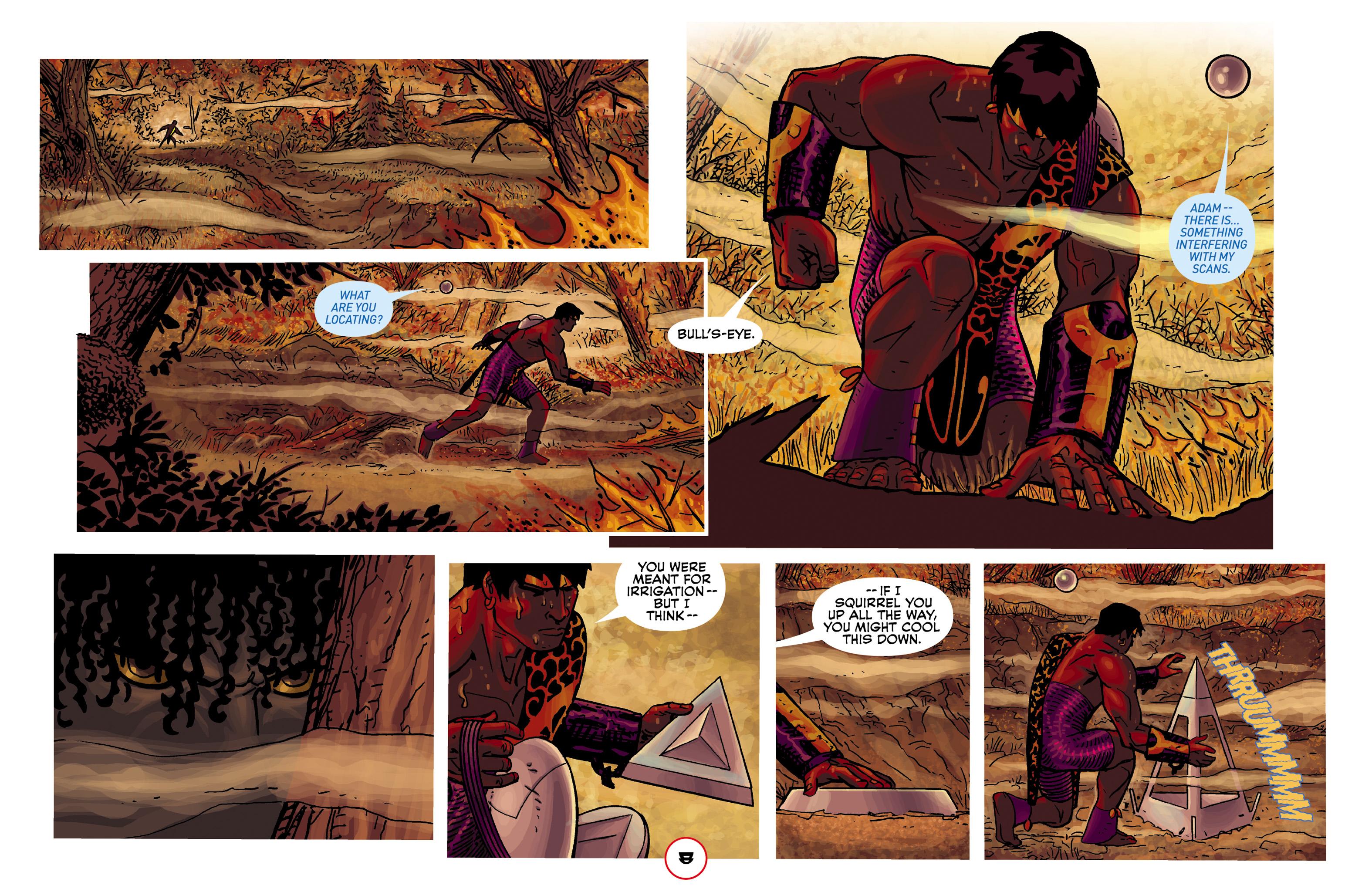 Read online Adam.3 comic -  Issue #2 - 10