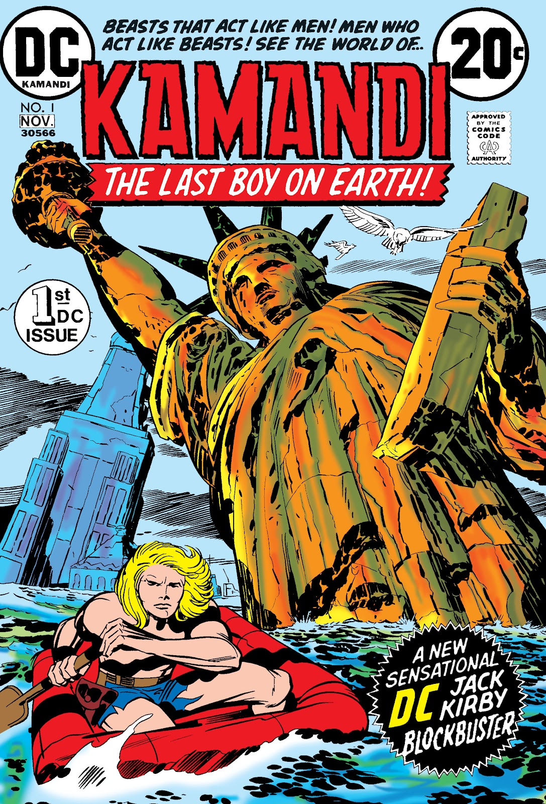 Kamandi, The Last Boy On Earth issue 1 - Page 1