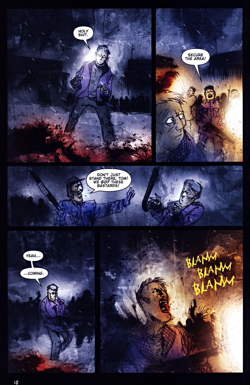 Read online 30 Days of Night: Return to Barrow comic -  Issue #5 - 19