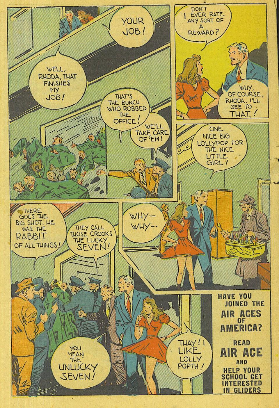 Read online Super-Magician Comics comic -  Issue #42 - 49