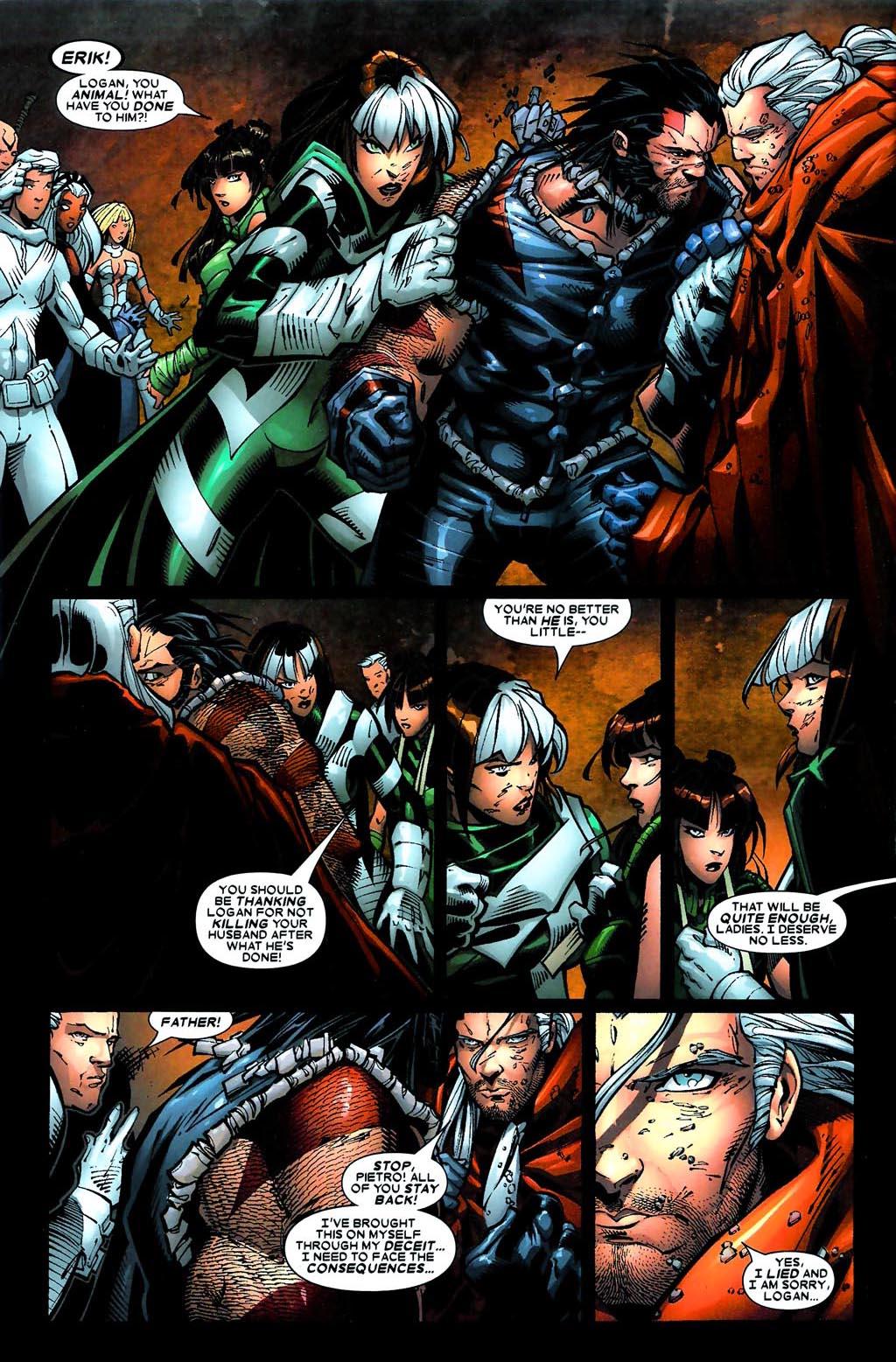 Read online Age of Apocalypse (2005) comic -  Issue #5 - 4