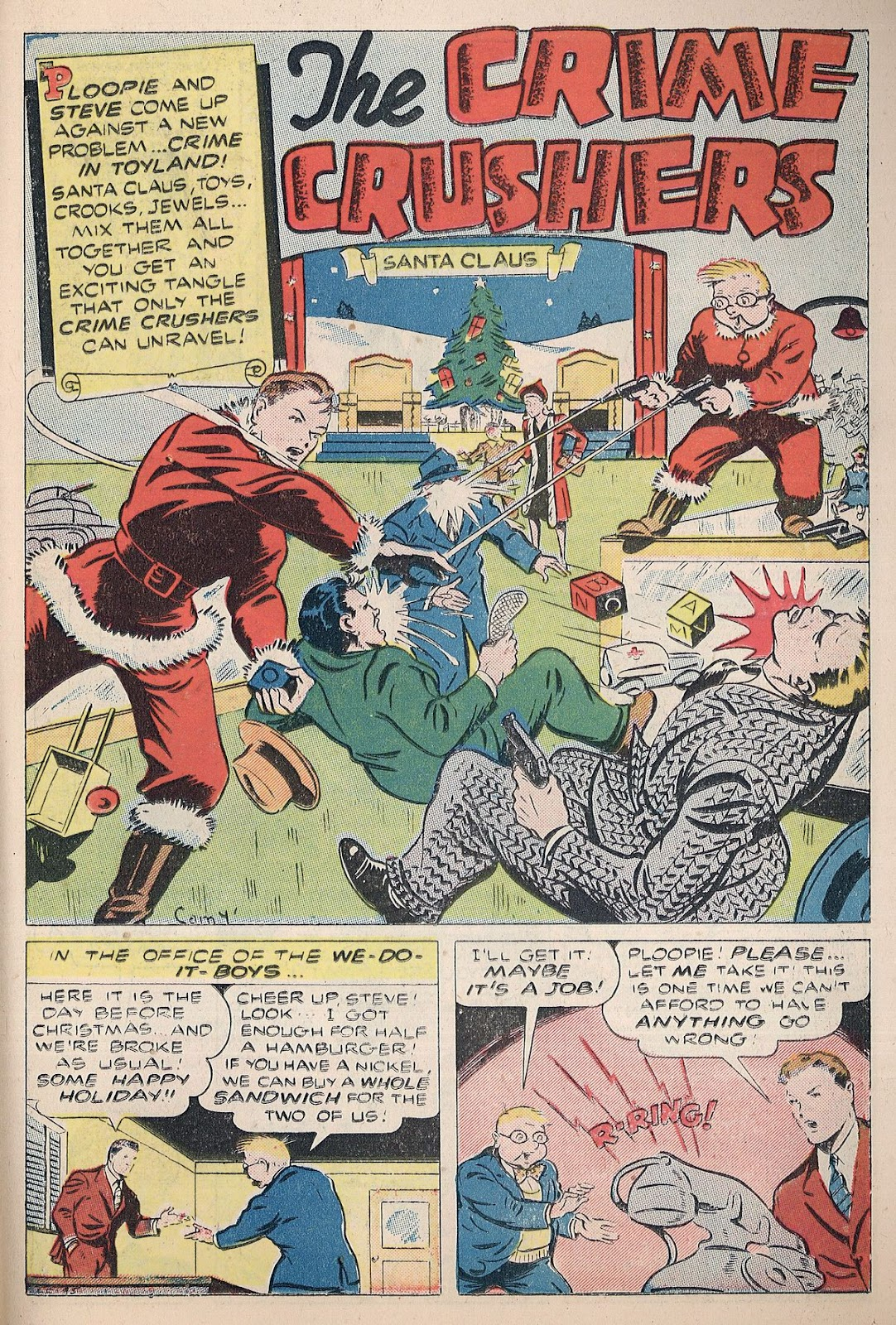 Exciting Comics (1940) issue 38 - Page 33