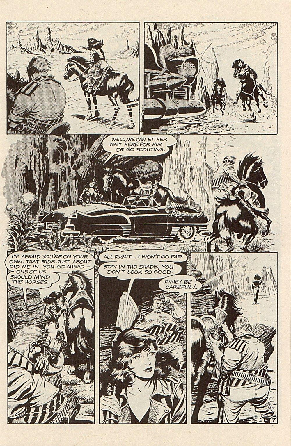 Read online Xenozoic Tales comic -  Issue #3 - 10
