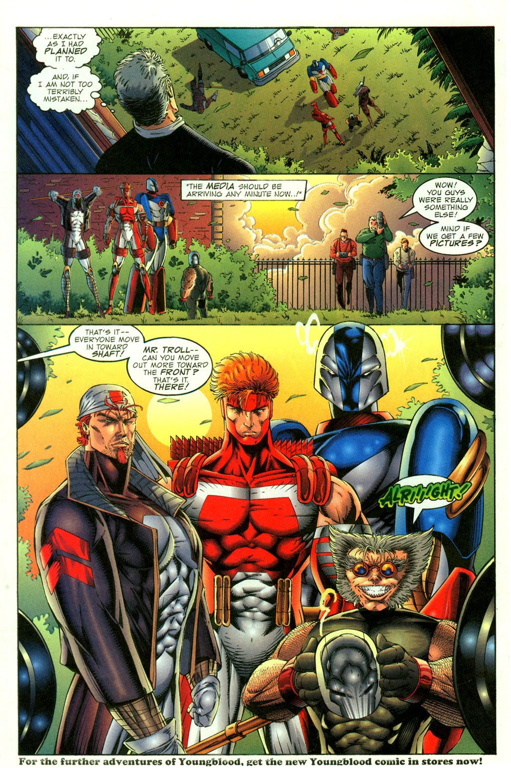 Read online Youngblood GT Interactive Ultra Game Players Special Edition comic -  Issue # Full - 25