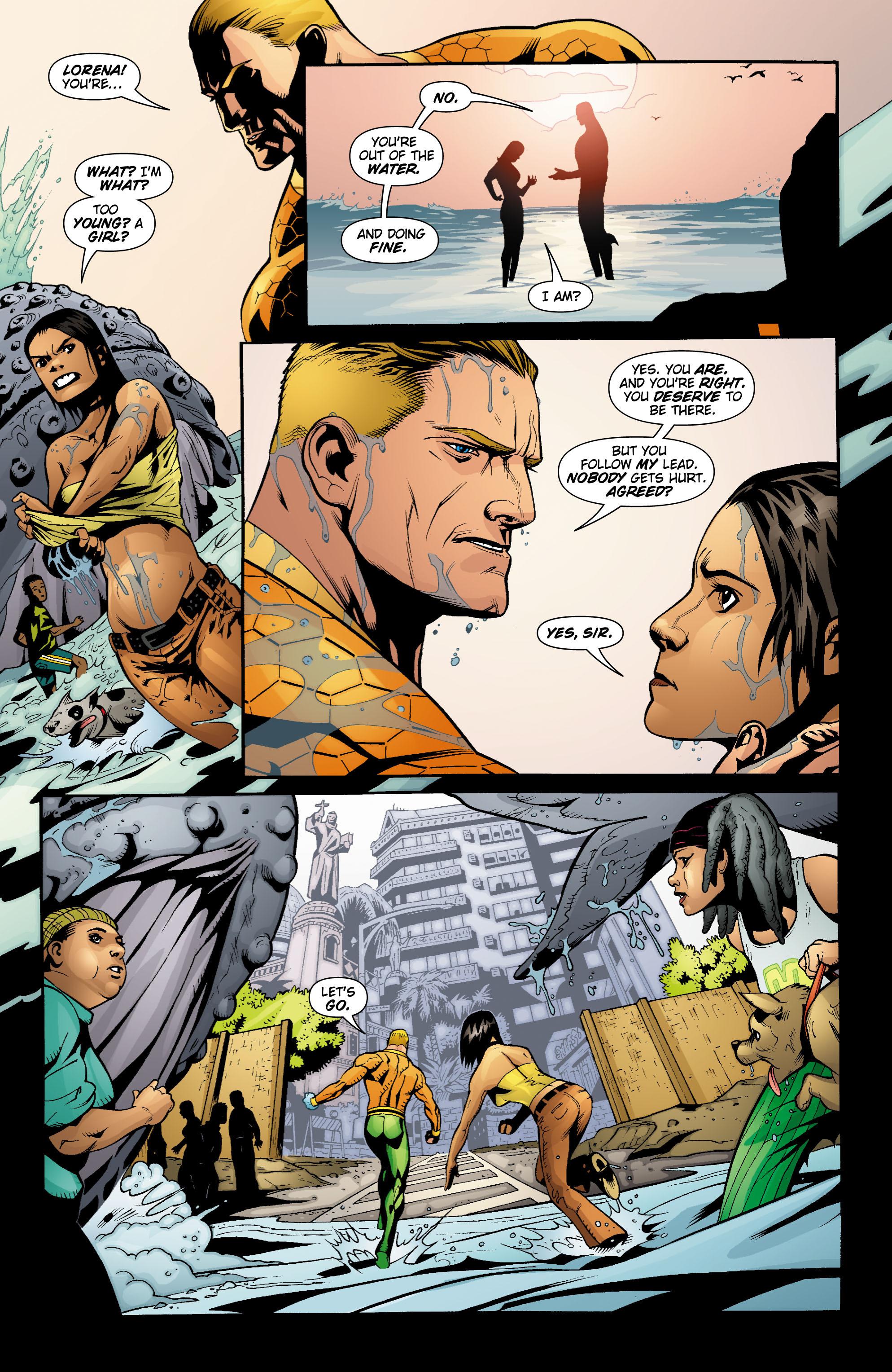 Read online Aquaman (2003) comic -  Issue #18 - 21