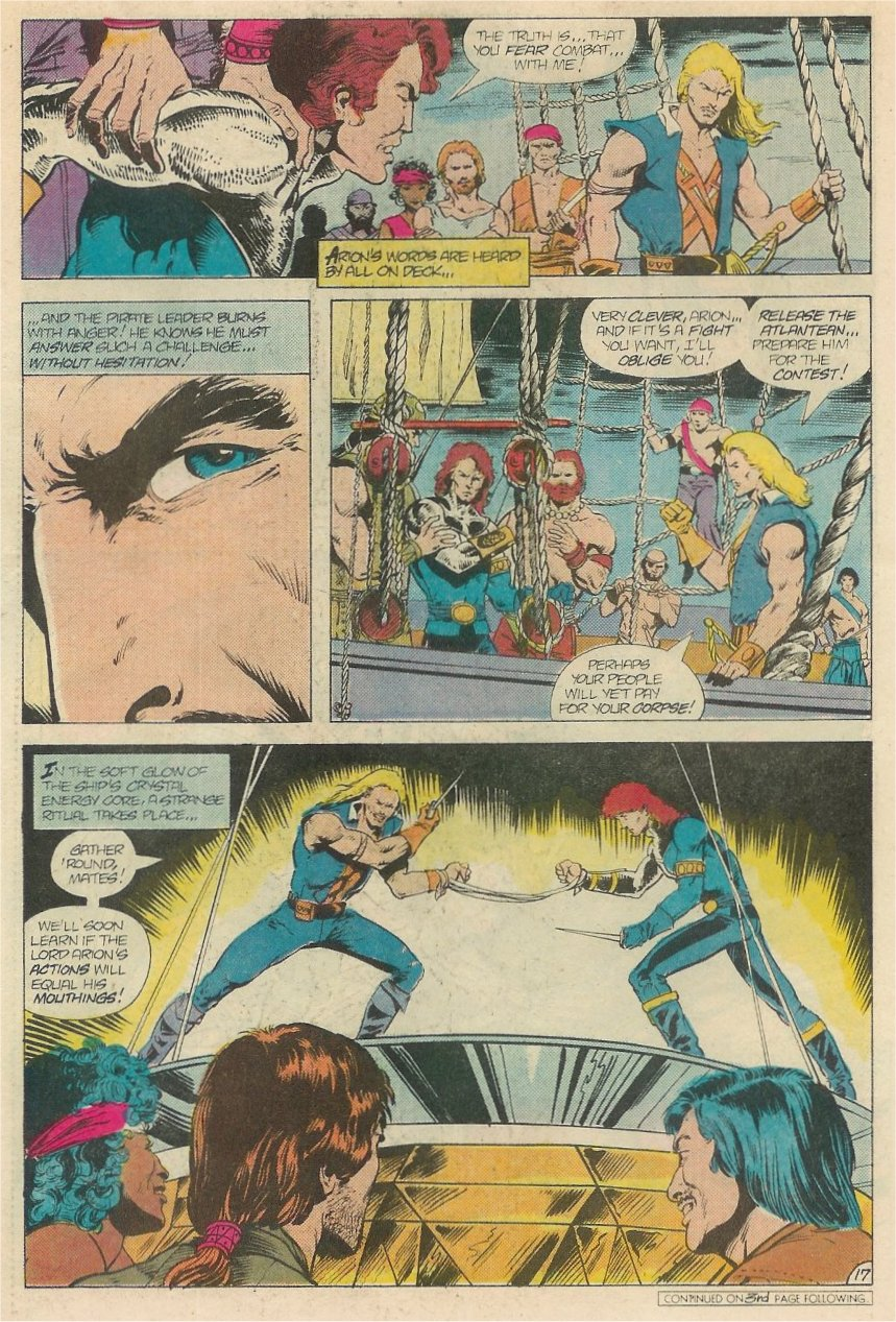 Read online Arion, Lord of Atlantis comic -  Issue #20 - 18
