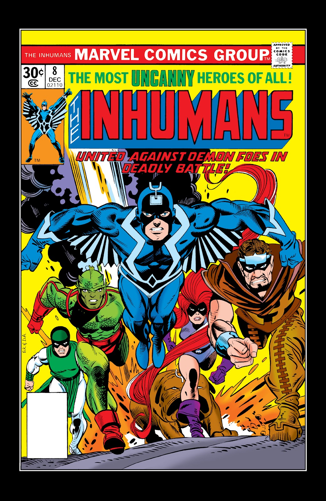 Read online Marvel Masterworks: The Inhumans comic -  Issue # TPB 2 (Part 2) - 36