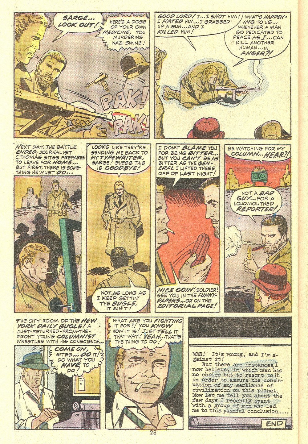 Read online Sgt. Fury comic -  Issue #110 - 30