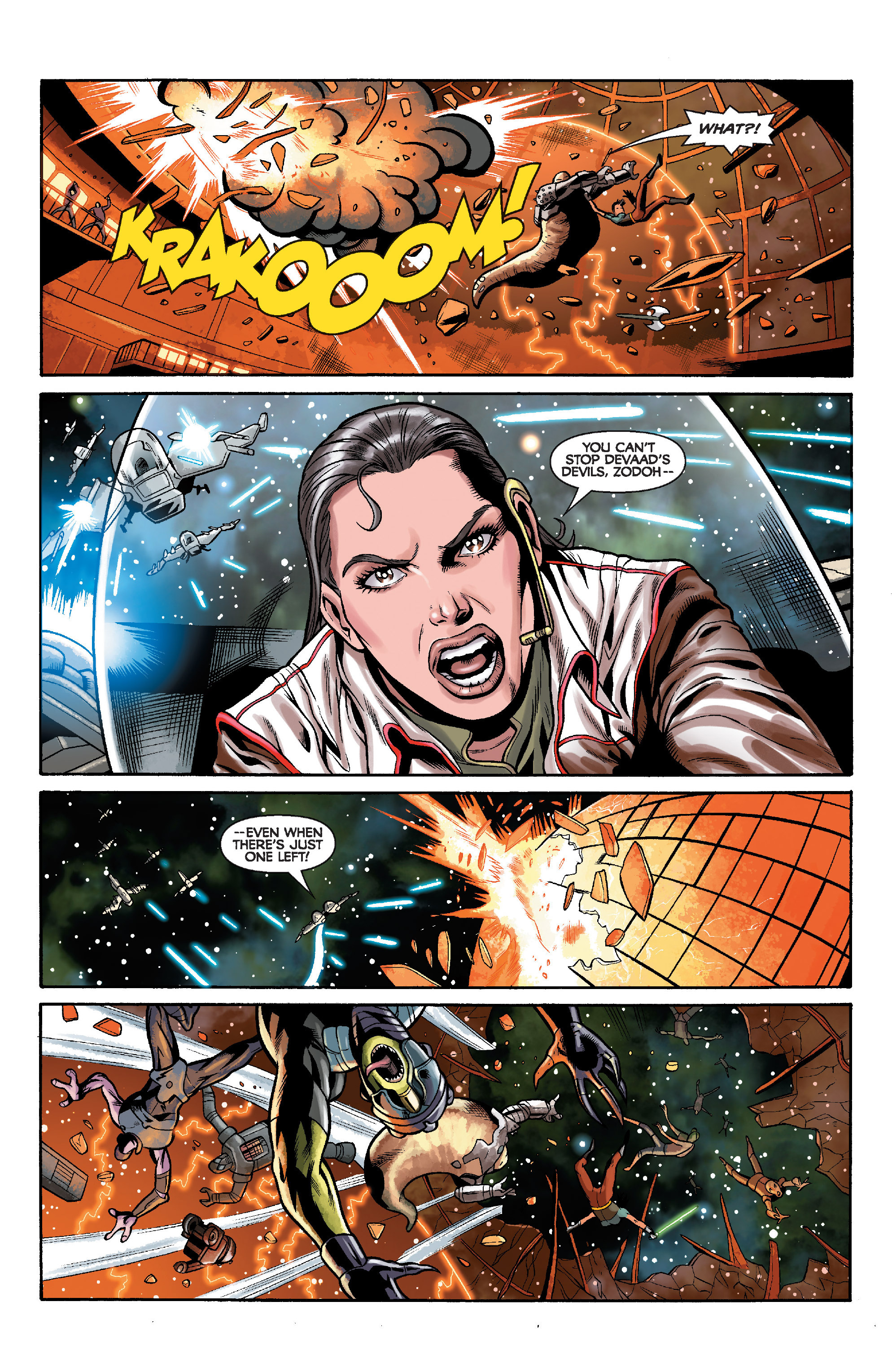 Read online Star Wars: Knight Errant - Deluge comic -  Issue #5 - 16
