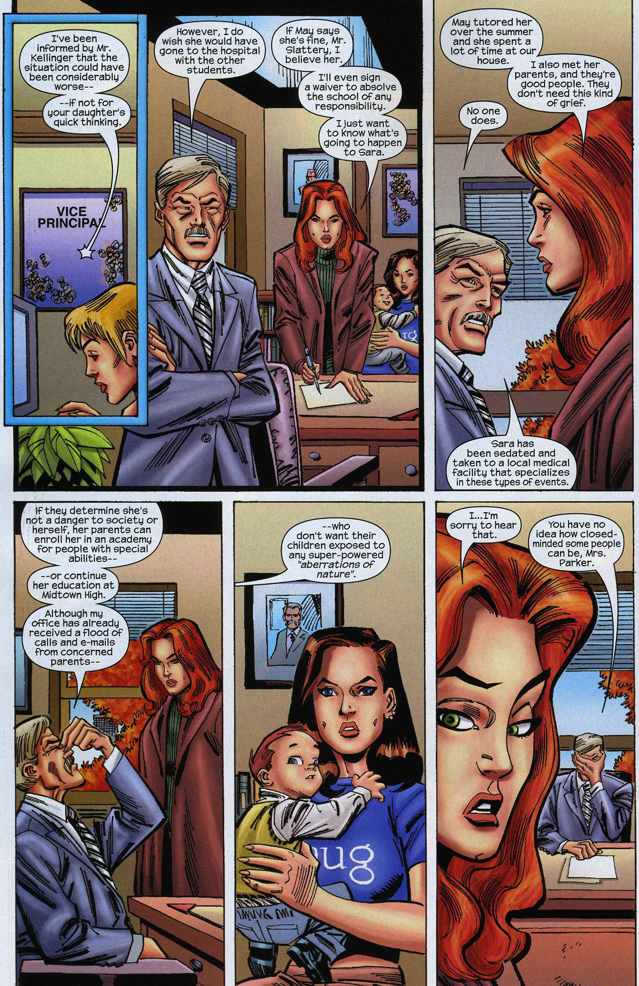 Amazing Spider-Girl 8 Page 8