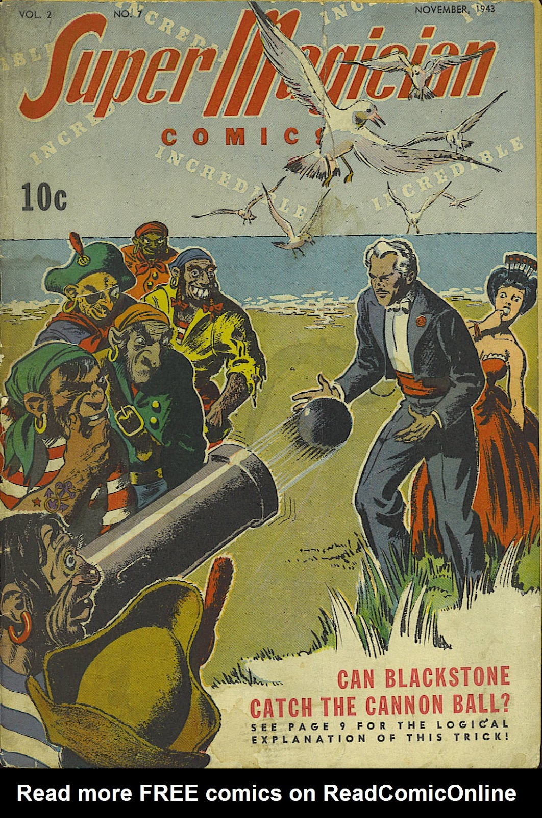 Read online Super-Magician Comics comic -  Issue #19 - 1