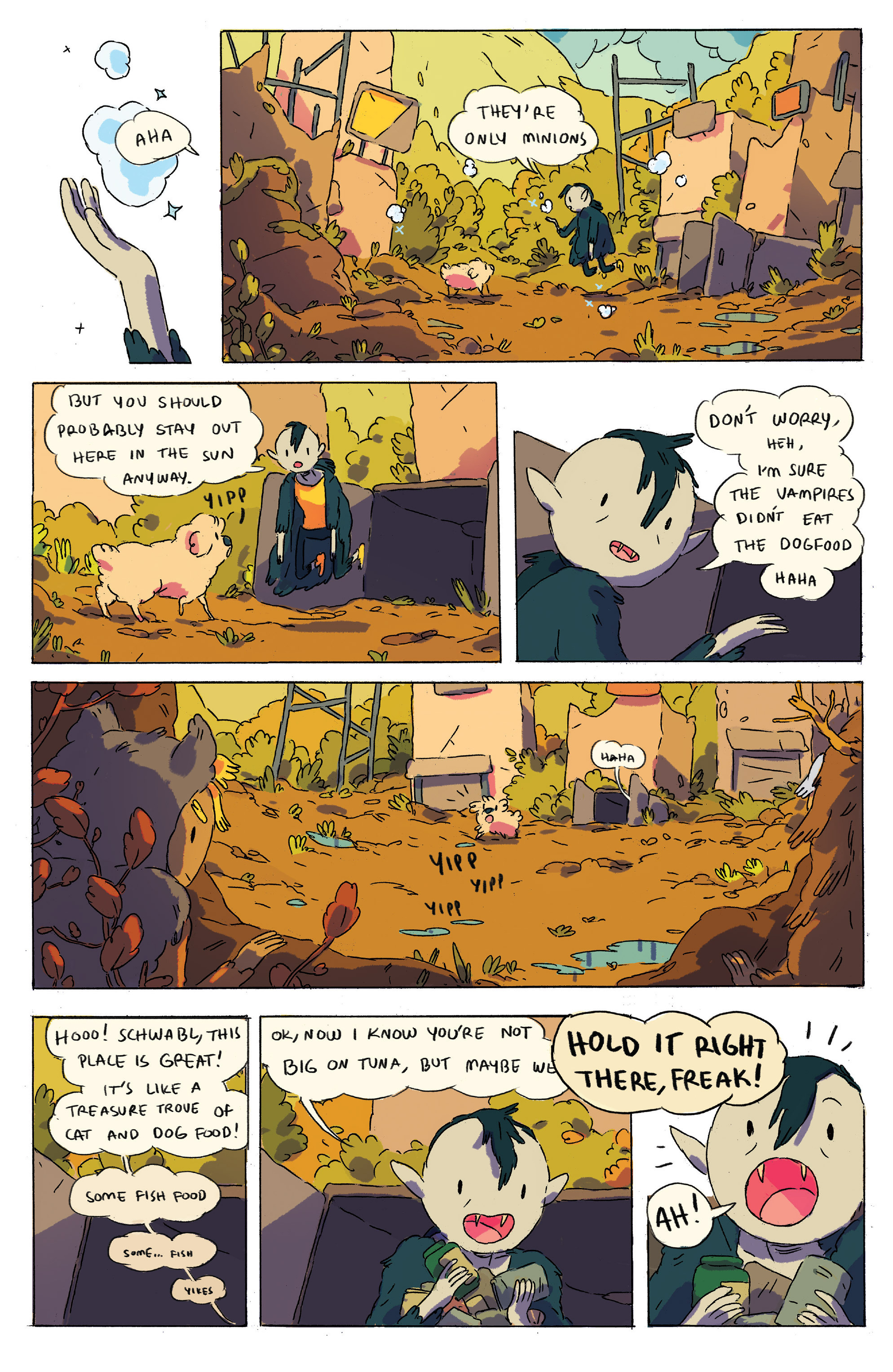 Read online Adventure Time comic -  Issue # _2015 Spoooktacular - 8