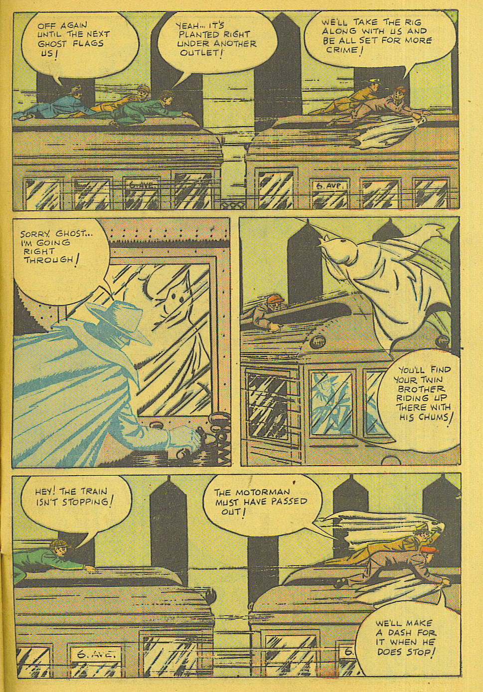 Read online Shadow Comics comic -  Issue #71 - 44