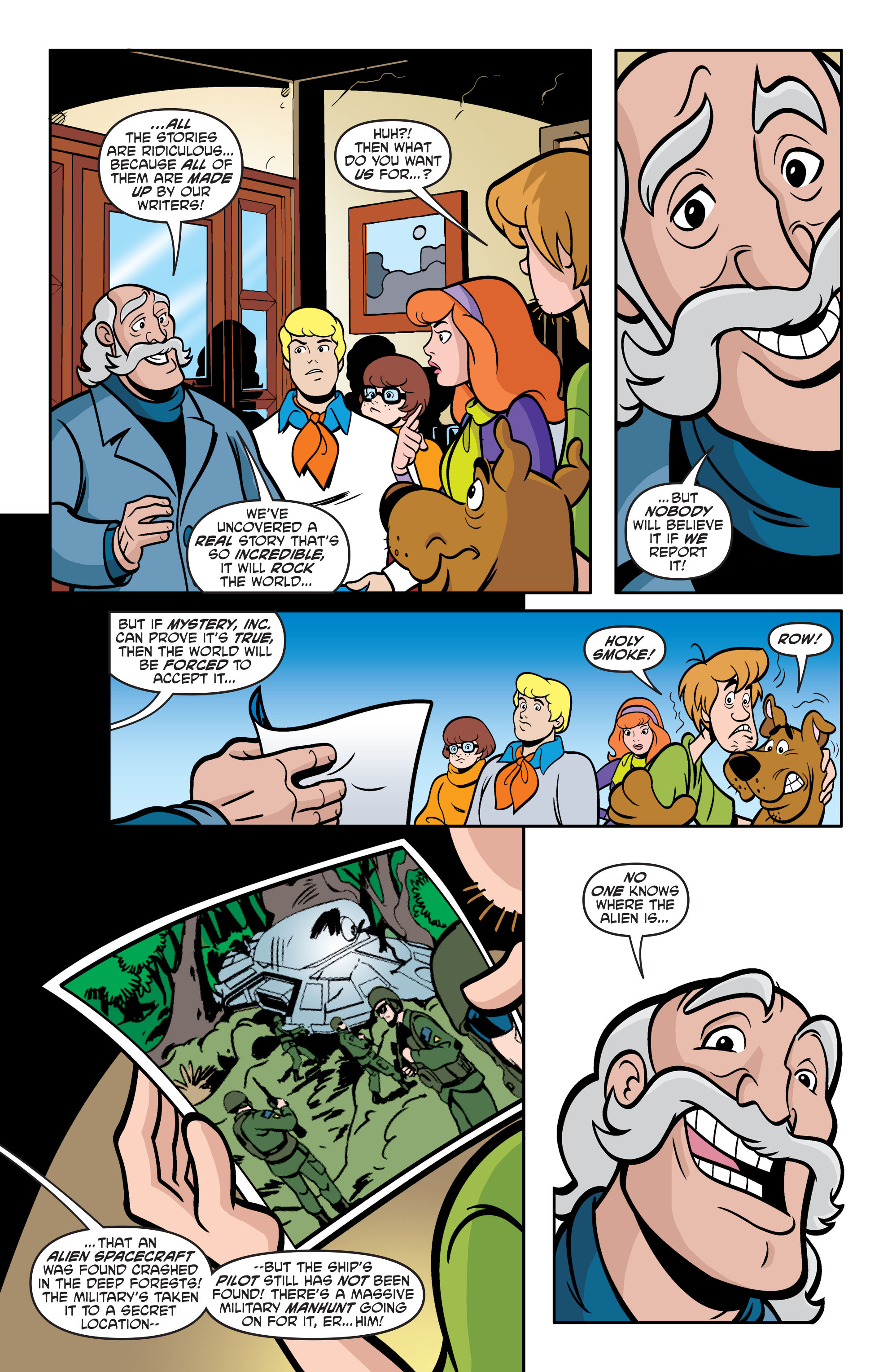 Read online Scooby-Doo: Where Are You? comic -  Issue #56 - 14