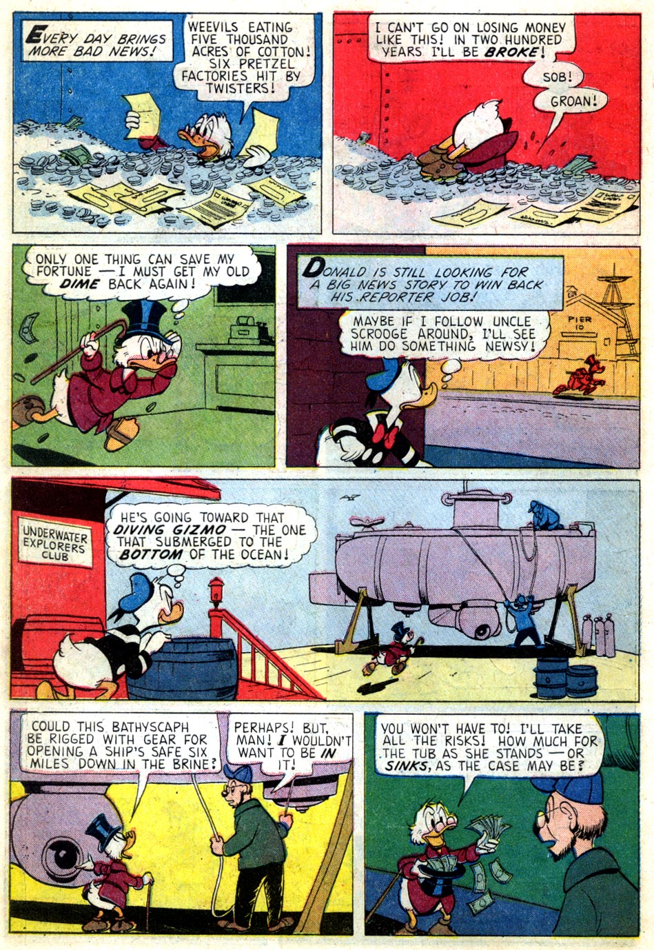 Read online Uncle Scrooge (1953) comic -  Issue #46 - 10