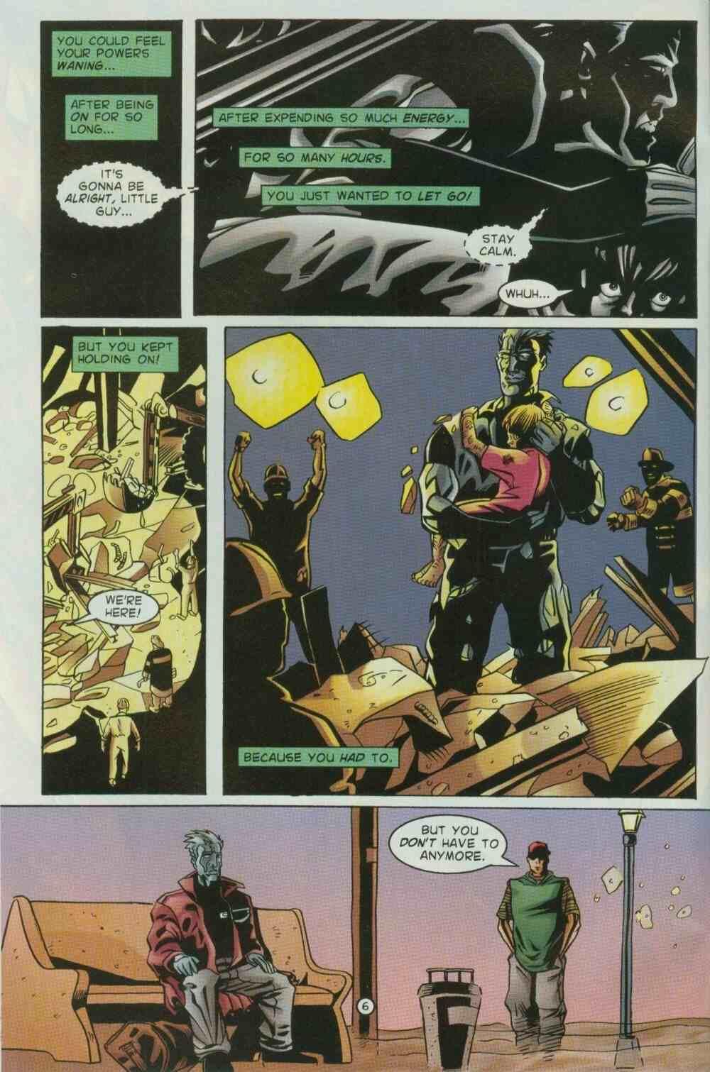 Read online Ultraverse Premiere comic -  Issue #7 - 8