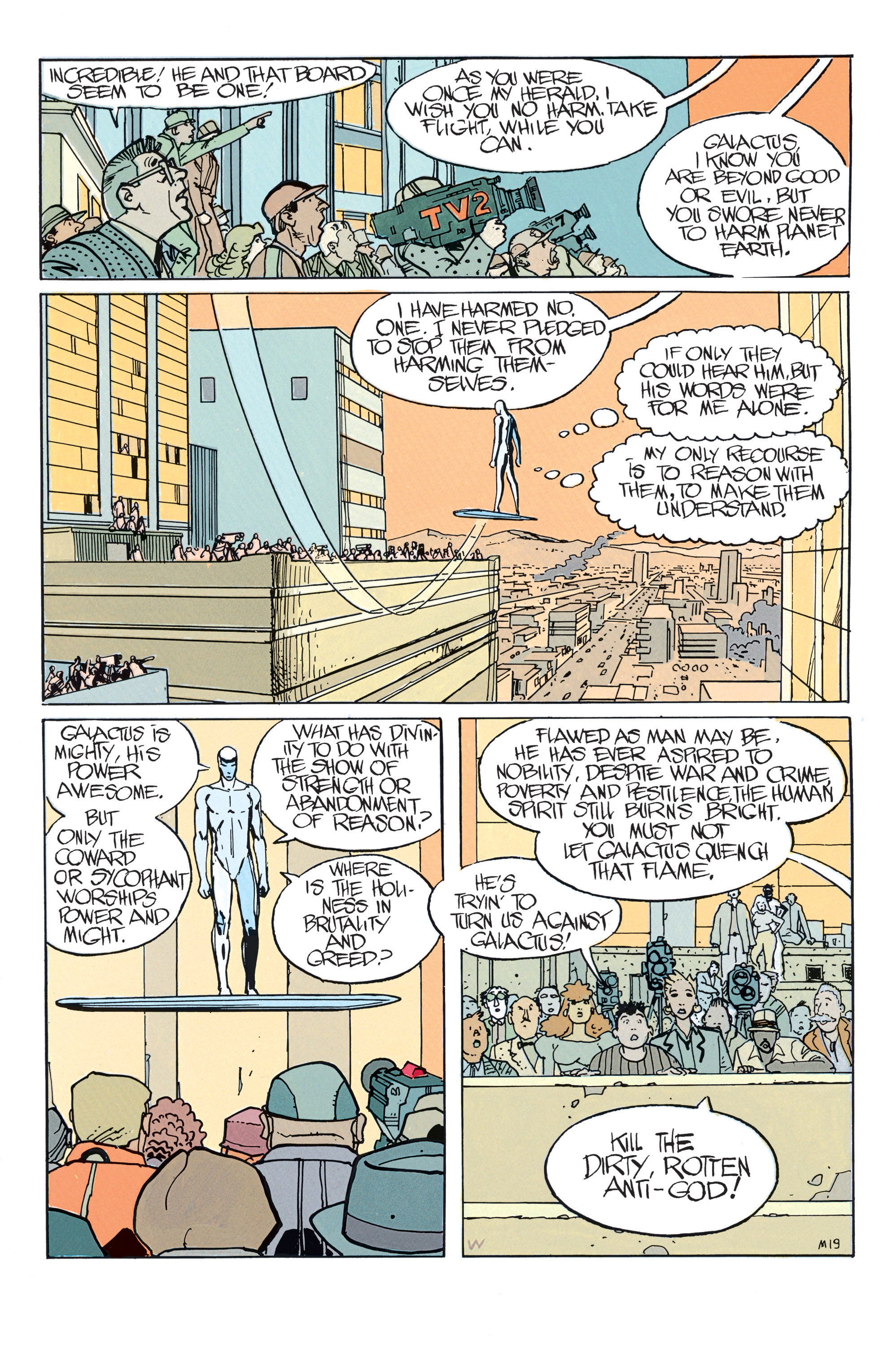 Read online Silver Surfer: Parable comic -  Issue # TPB - 25