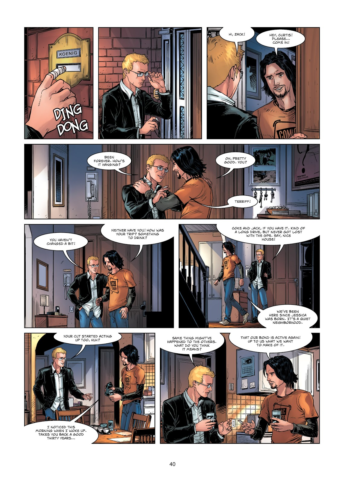 Read online Vigilantes comic -  Issue #1 - 40