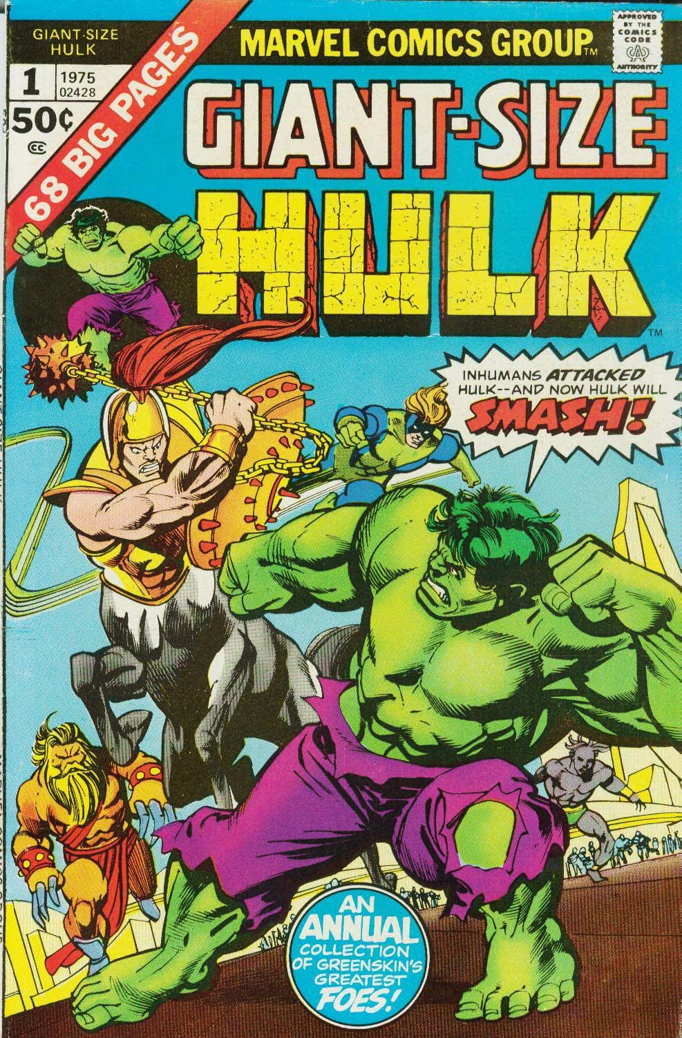 Giant-Size Hulk (1975) issue Full - Page 1