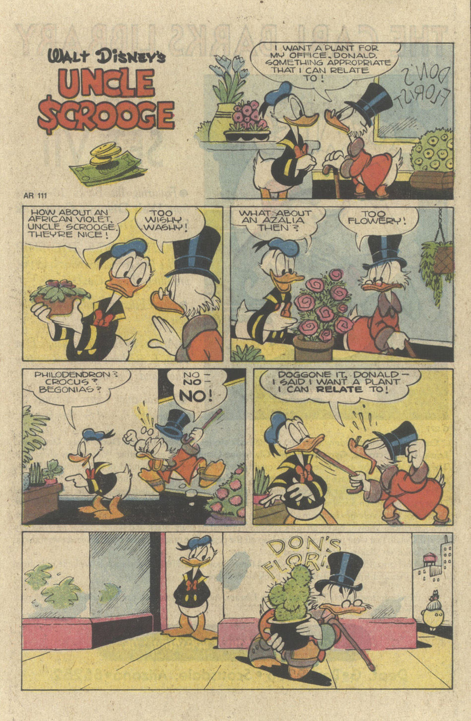 Read online Uncle Scrooge (1953) comic -  Issue #226 - 25