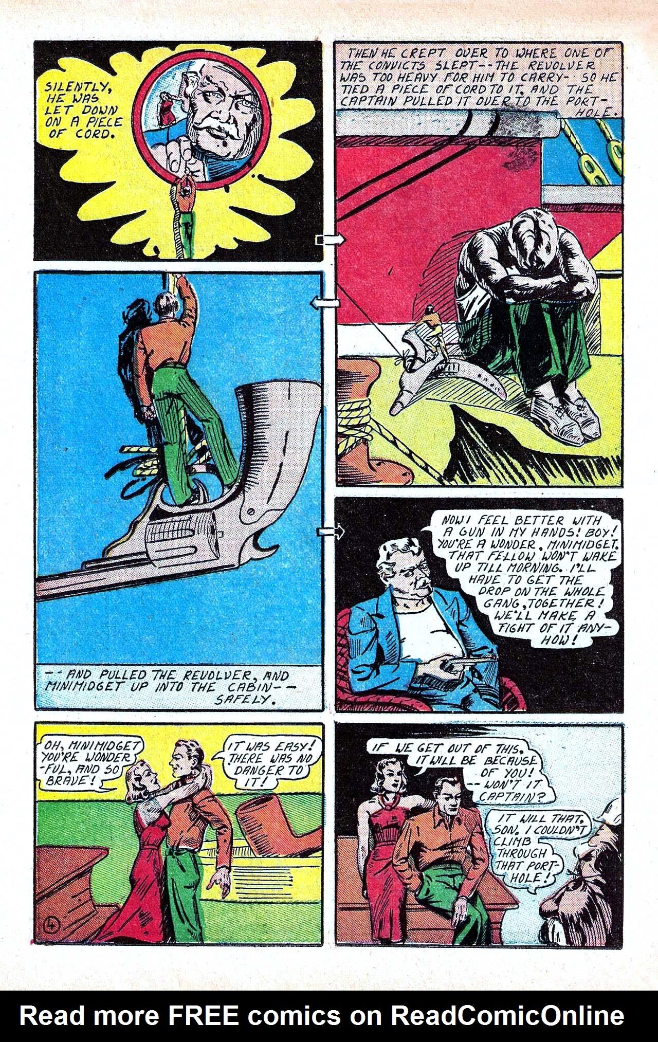 Read online Amazing Man Comics comic -  Issue #11 - 32