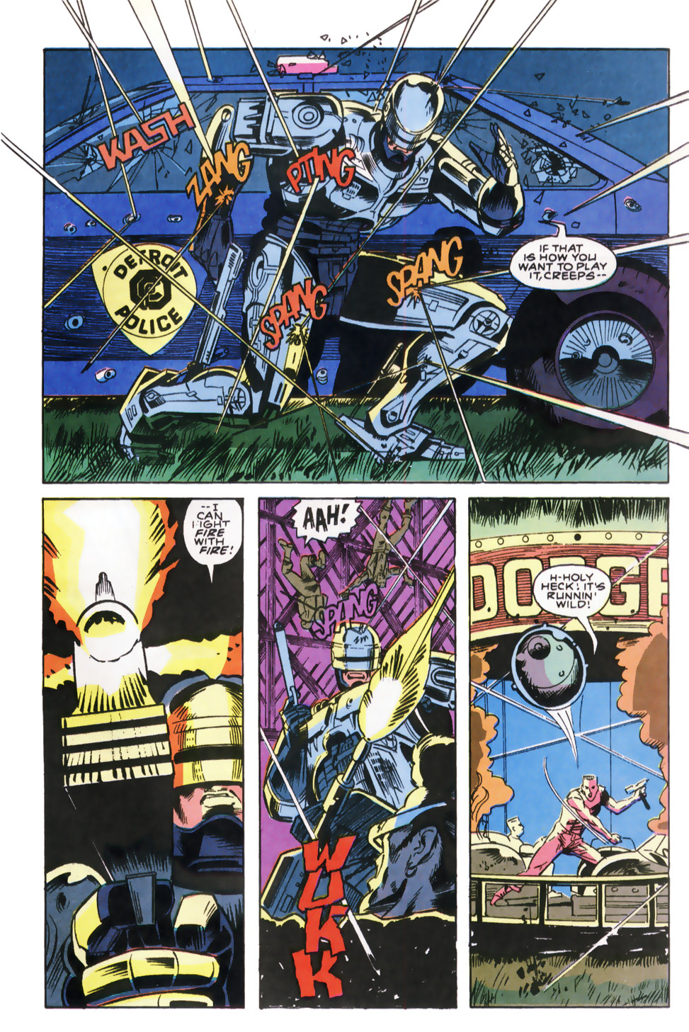 Read online Robocop (1990) comic -  Issue #8 - 20