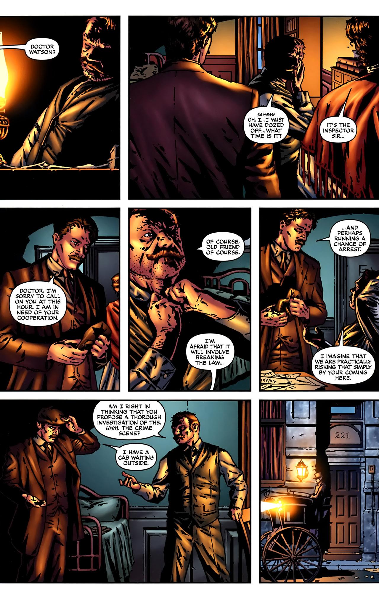 Read online Sherlock Holmes (2009) comic -  Issue #2 - 18