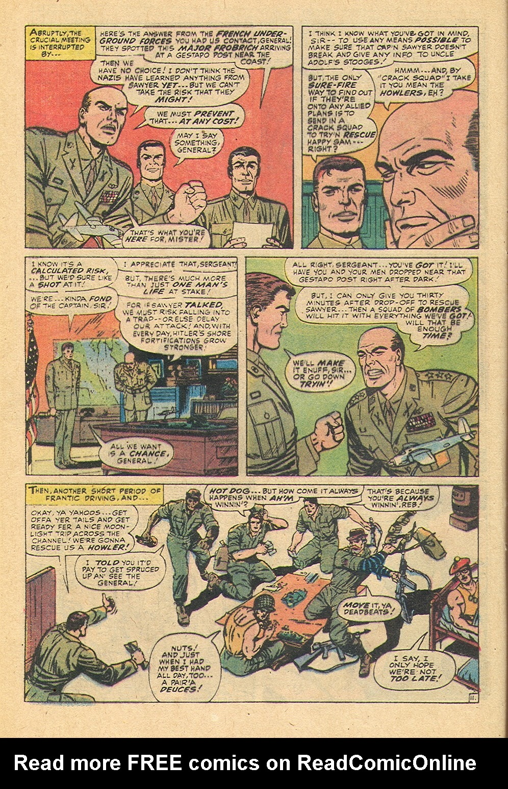 Read online Sgt. Fury comic -  Issue #92 - 36