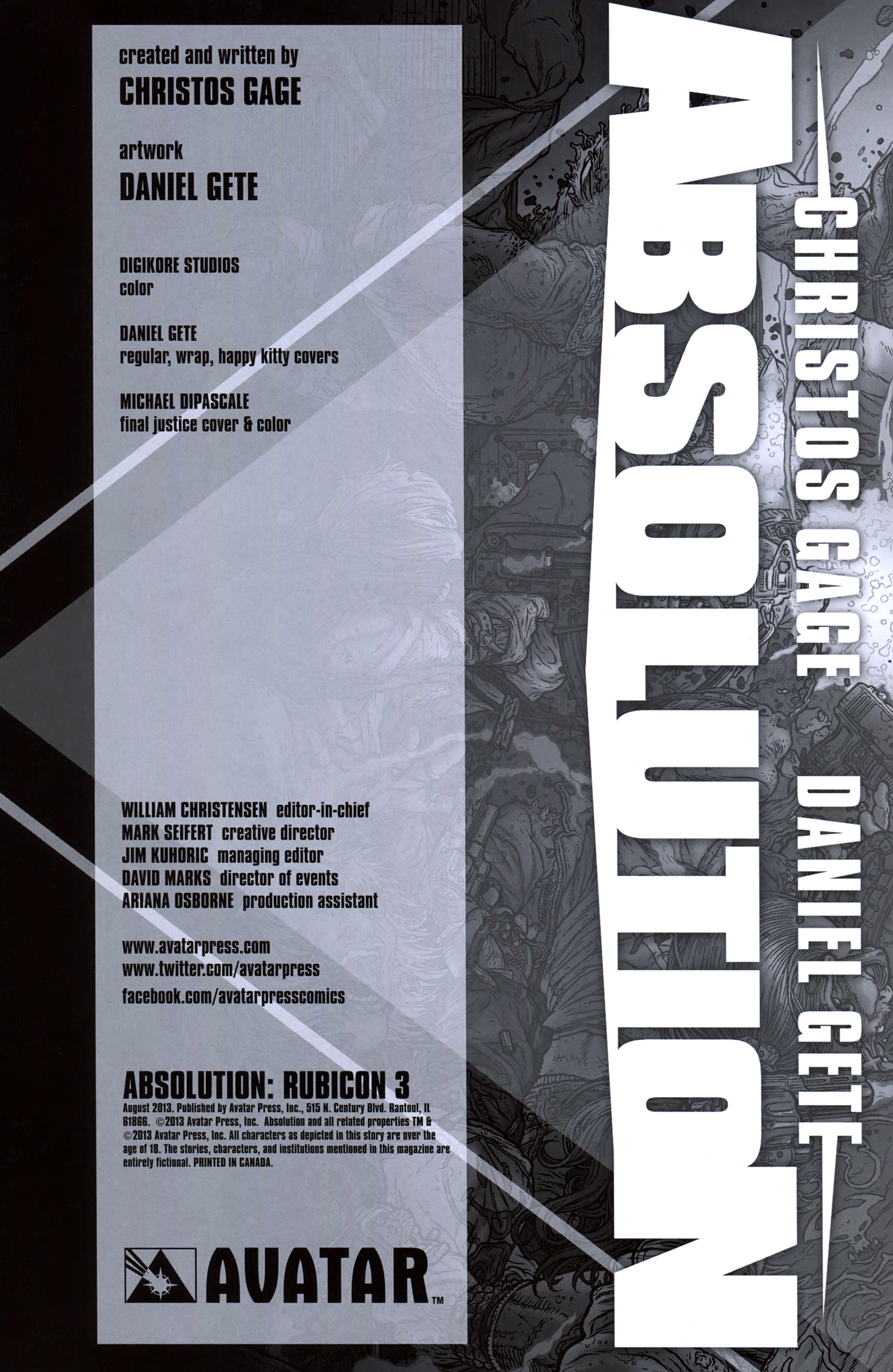 Read online Absolution: Rubicon comic -  Issue #3 - 6