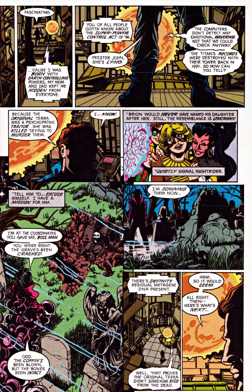 Read online Team Titans comic -  Issue #1e - 6
