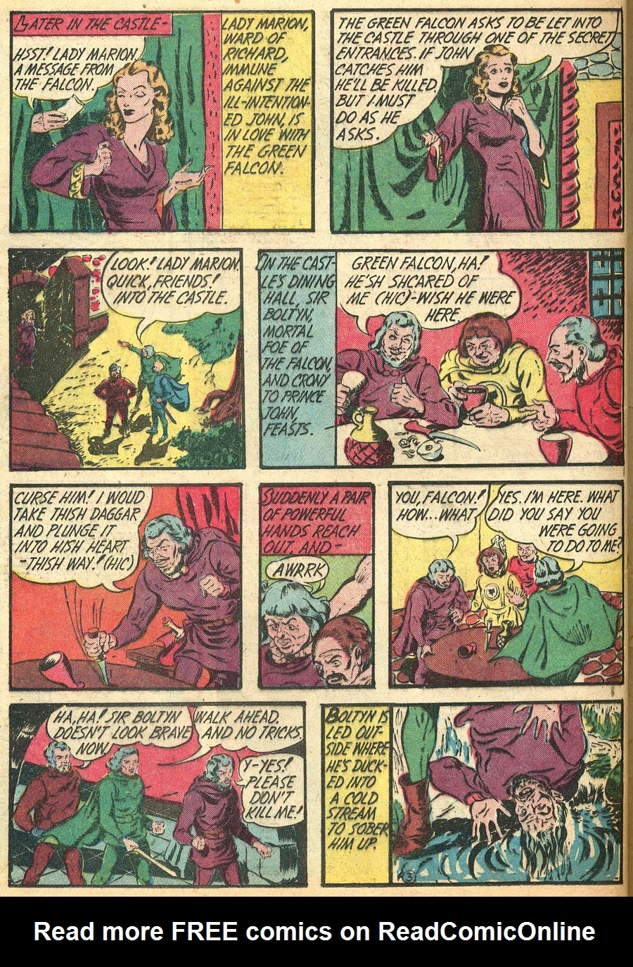 Blue Ribbon Comics (1939) issue 9 - Page 64
