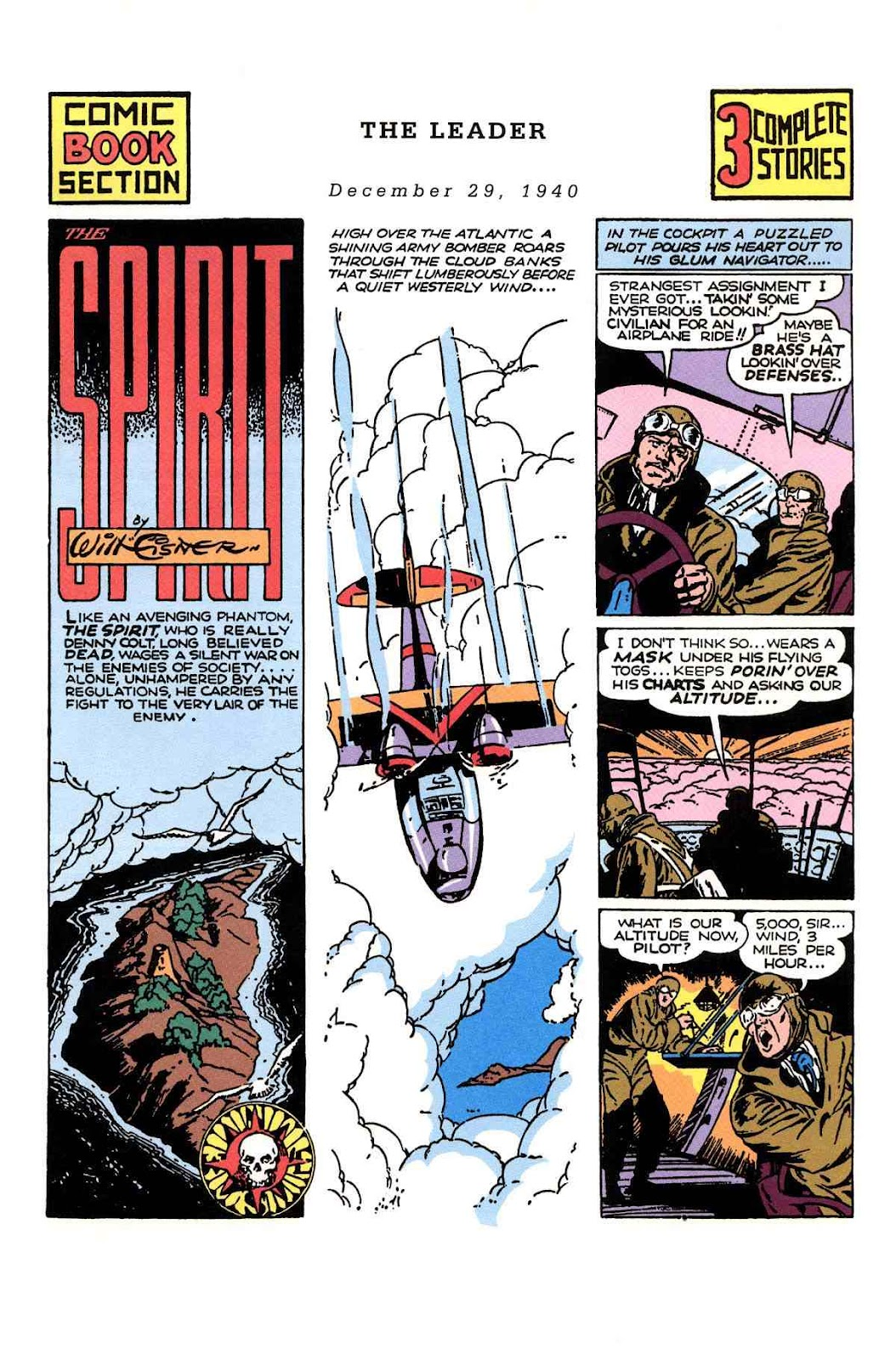 Read online Will Eisner's The Spirit Archives comic -  Issue # TPB 1 (Part 3) - 12
