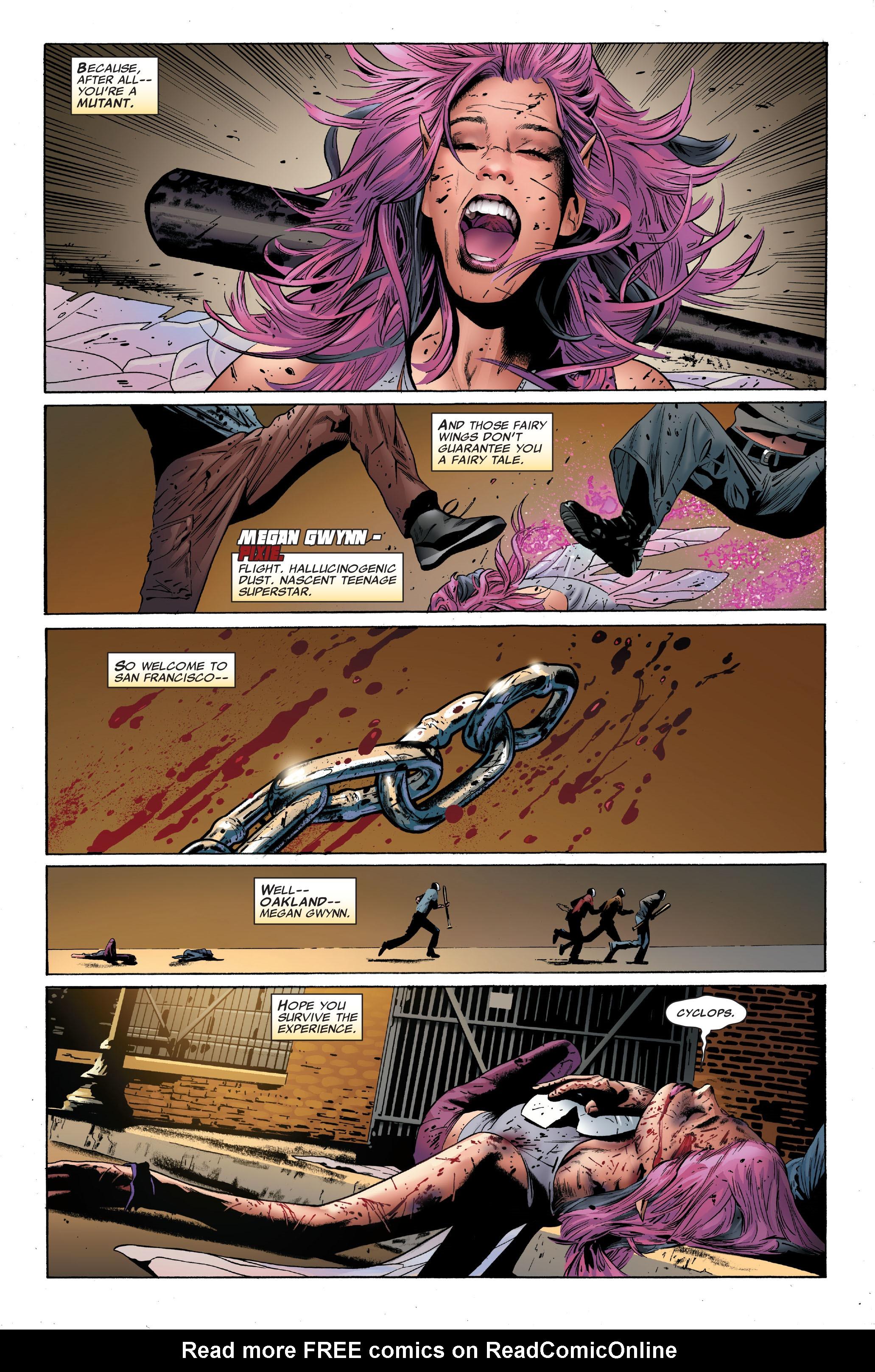 Read online Uncanny X-Men (1963) comic -  Issue #501 - 6