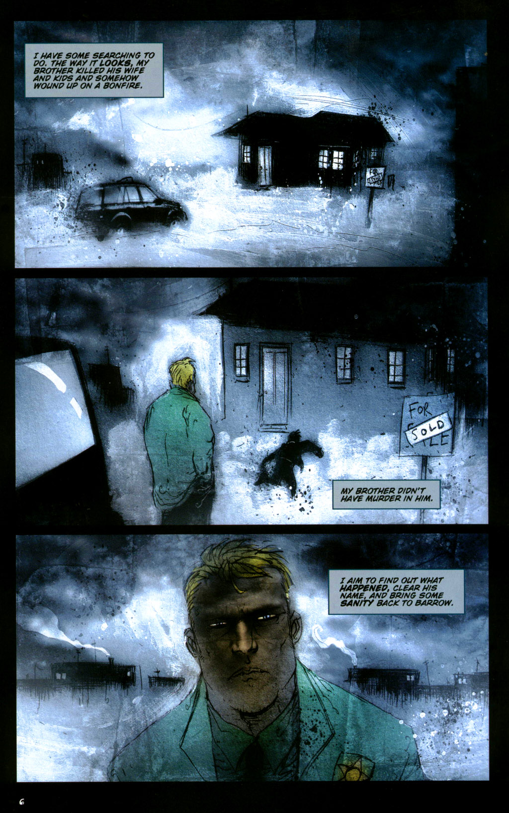 Read online 30 Days of Night: Return to Barrow comic -  Issue #1 - 8