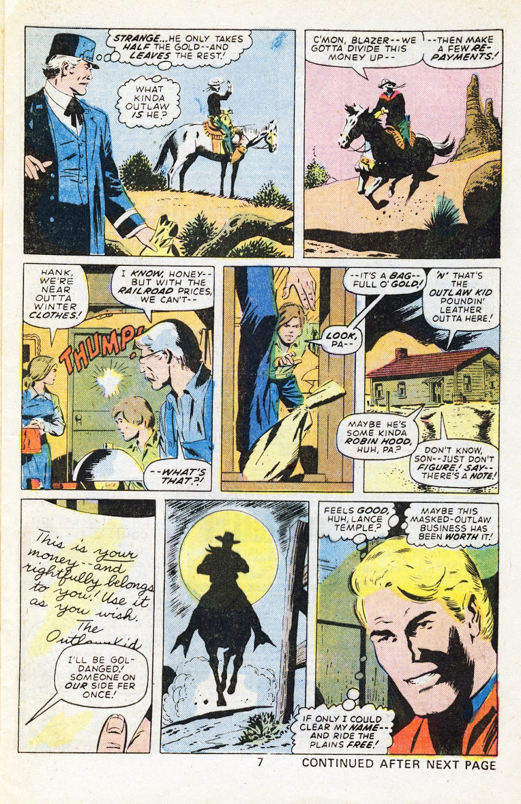 The Outlaw Kid (1970) issue 29 - Page 9