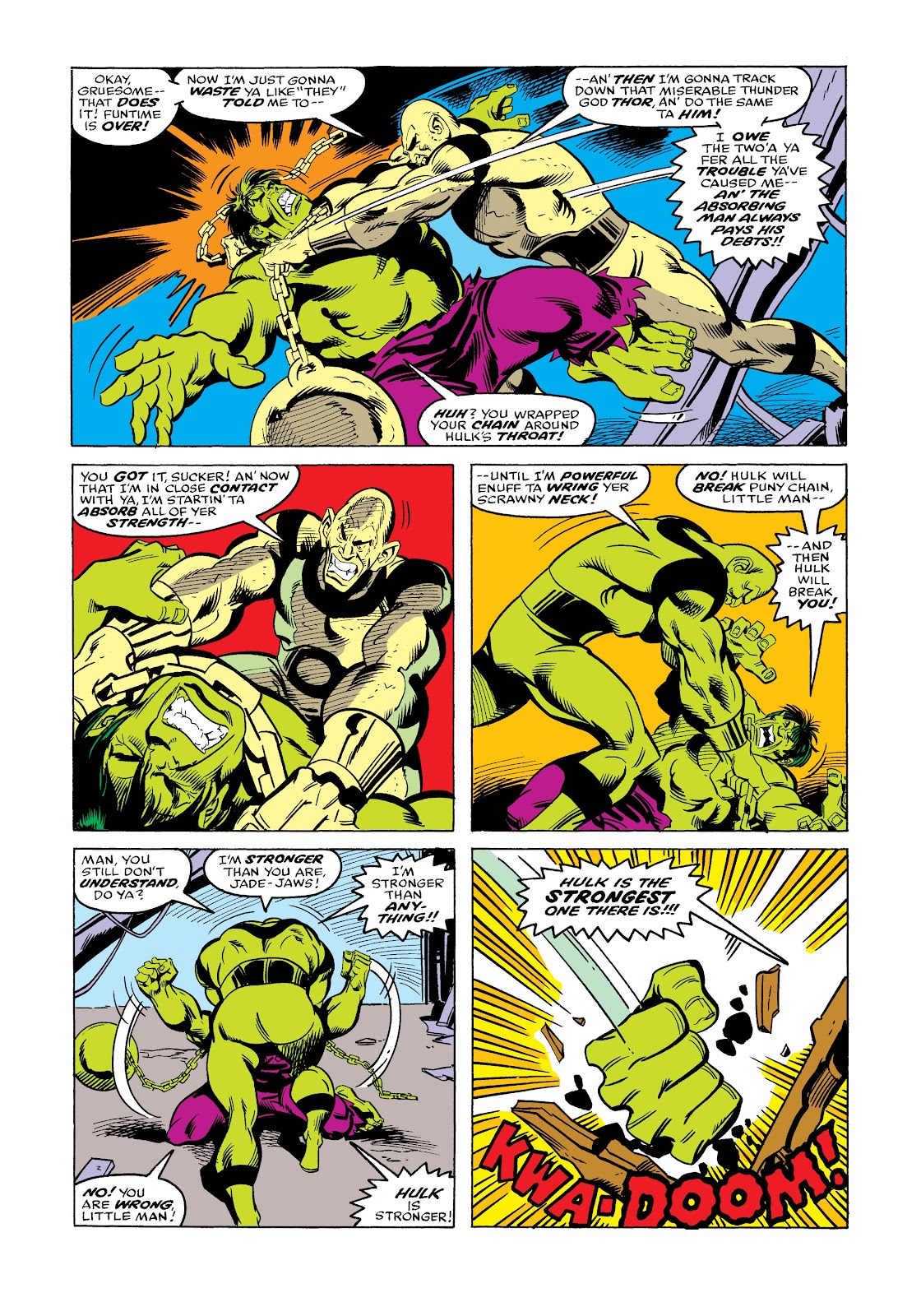 Read online Marvel Masterworks: The Incredible Hulk comic -  Issue # TPB 12 (Part 3) - 79