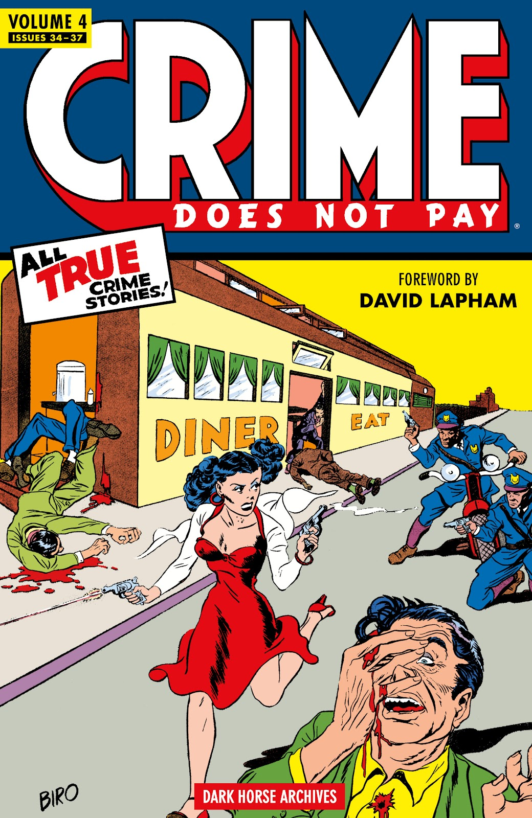 Read online Crime Does Not Pay Archives comic -  Issue # TPB 4 (Part 1) - 1
