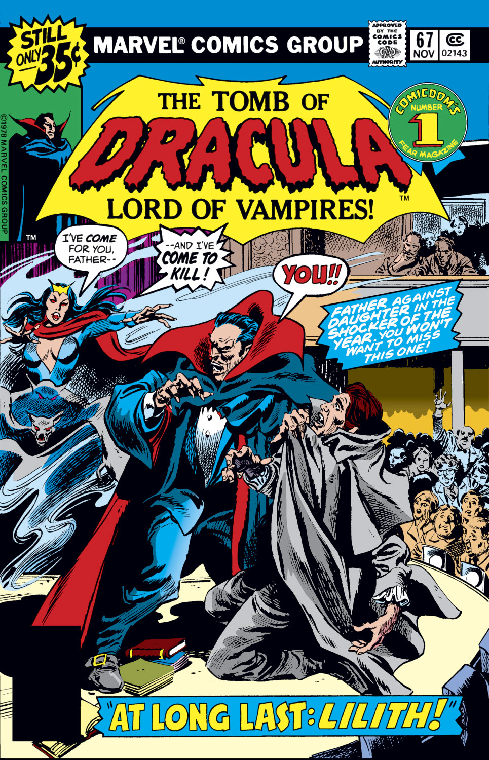 Tomb of Dracula (1972) issue 67 - Page 1