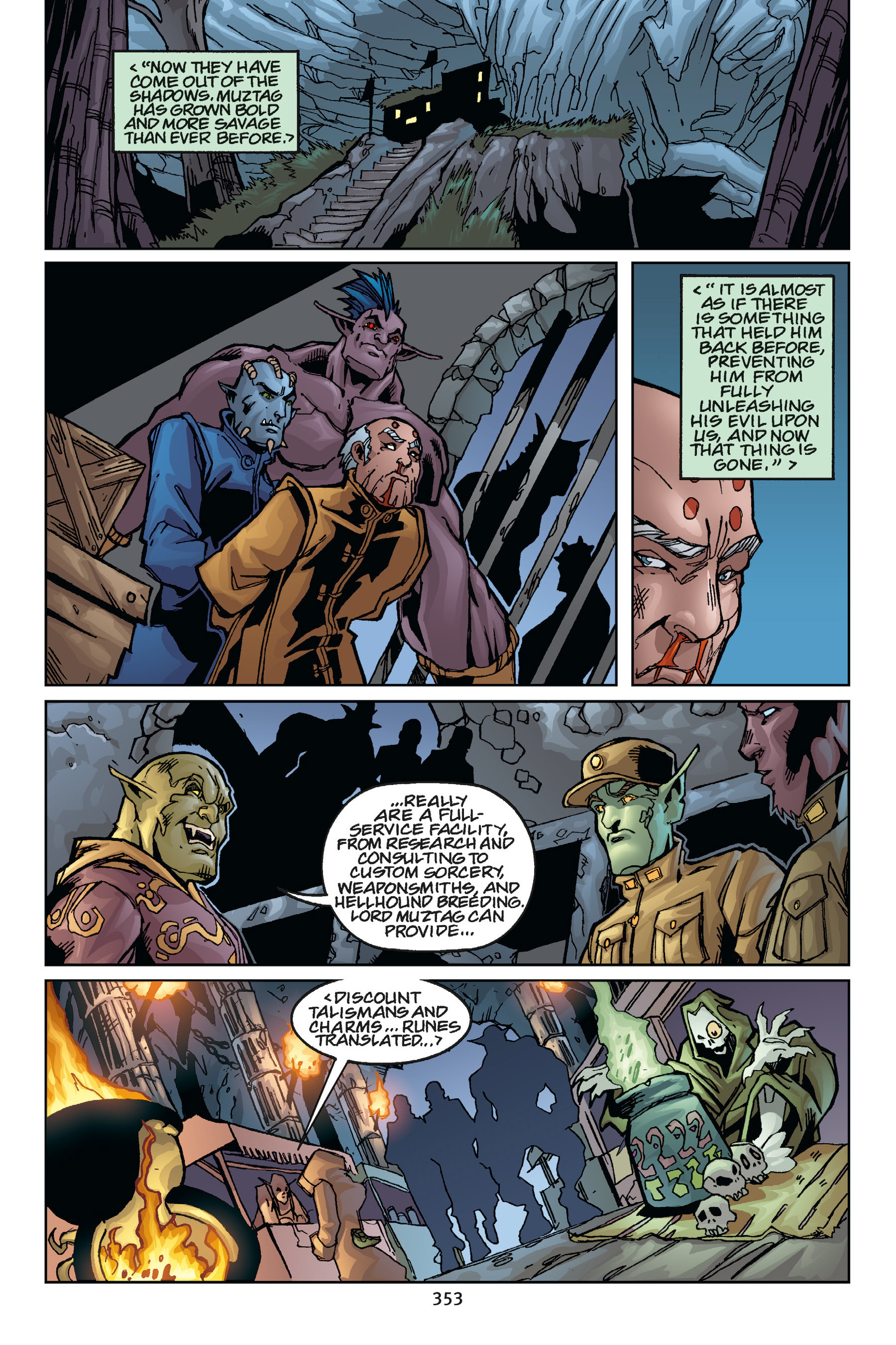 Read online Buffy the Vampire Slayer: Omnibus comic -  Issue # TPB 5 - 351
