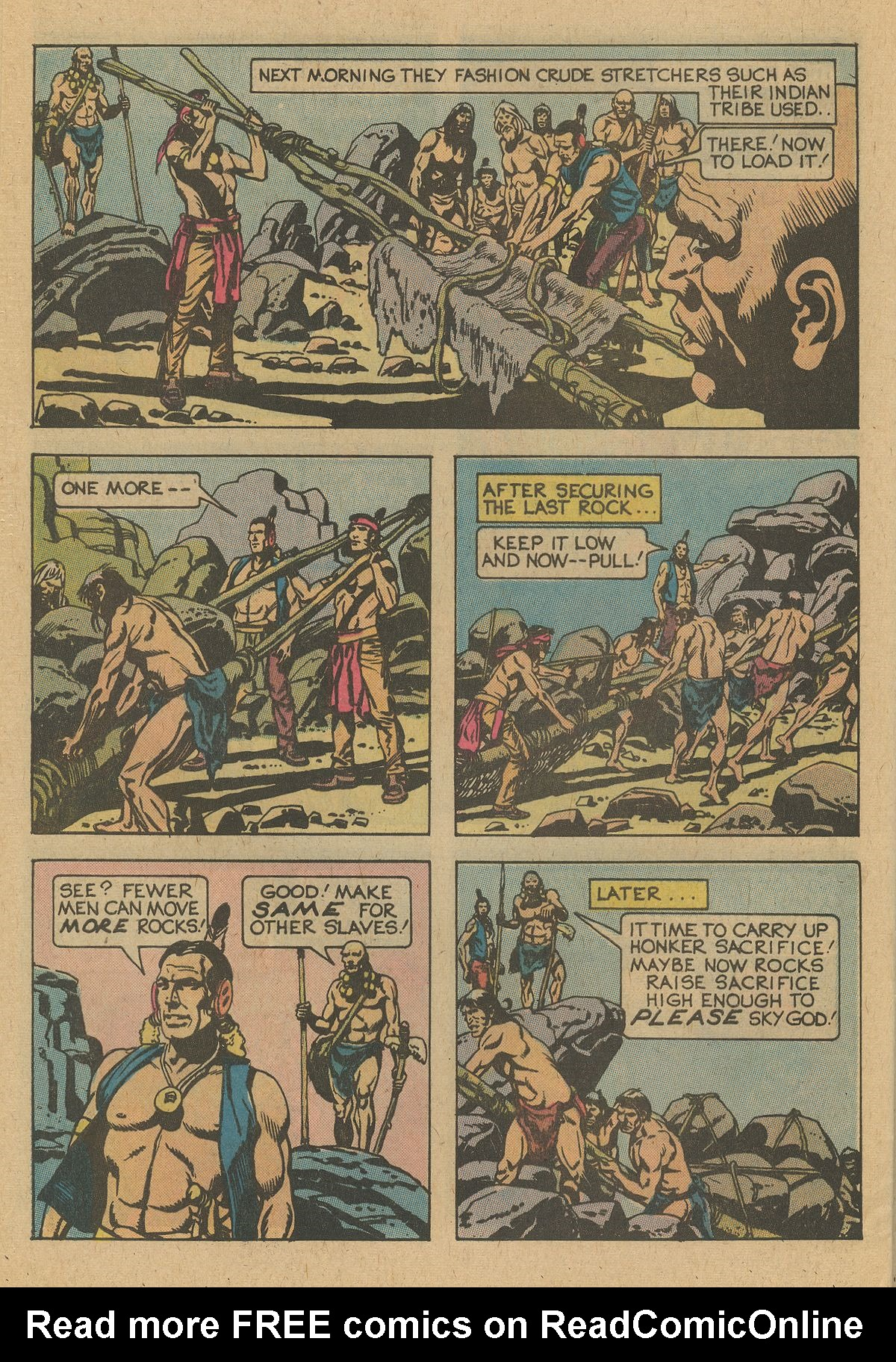 Read online Turok, Son of Stone comic -  Issue #109 - 28