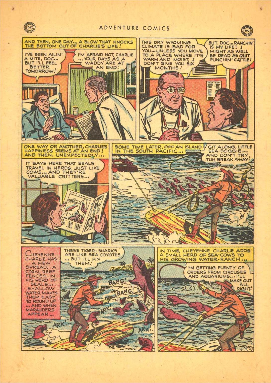 Read online Adventure Comics (1938) comic -  Issue #148 - 16