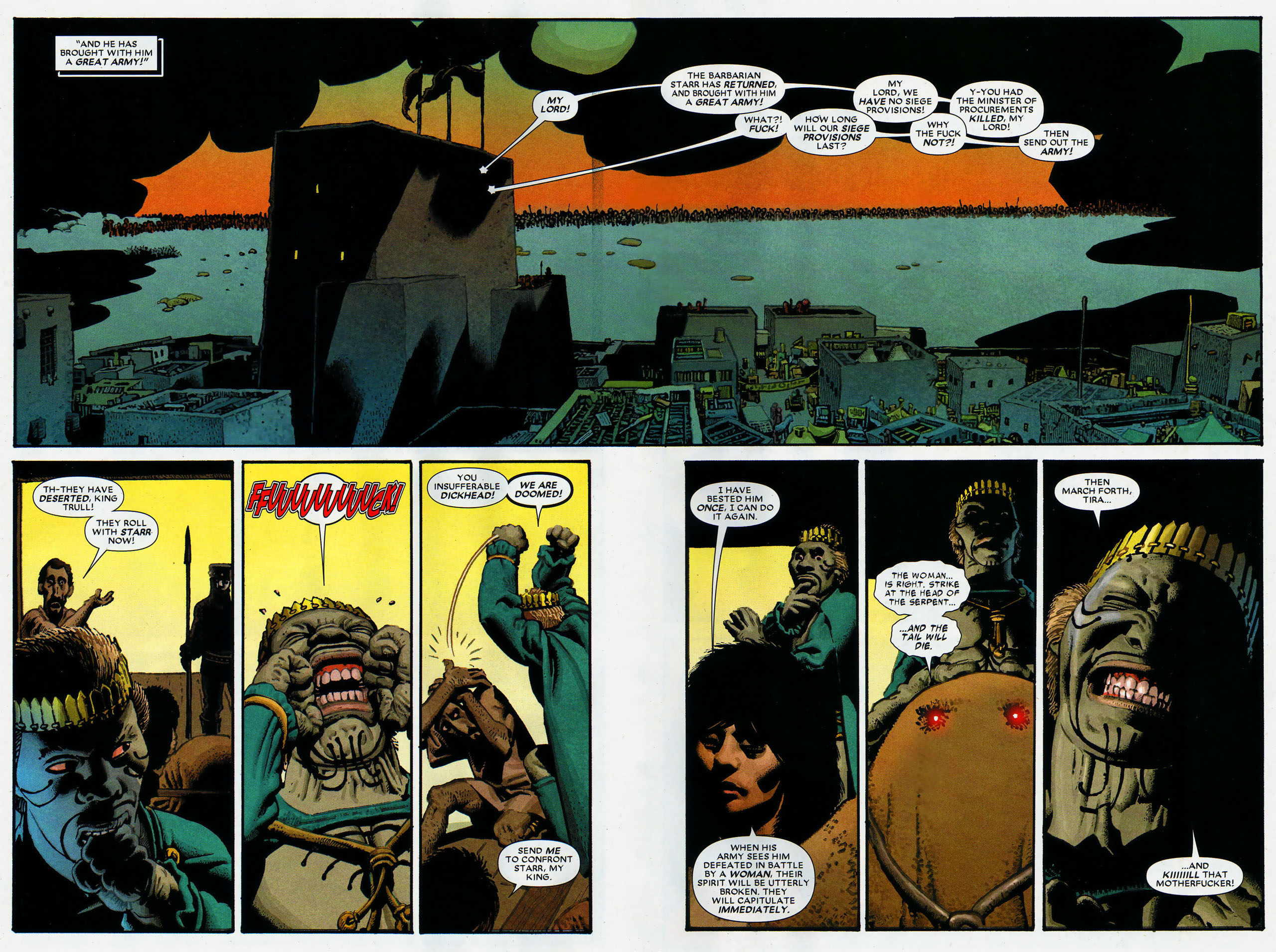 Read online Starr the Slayer comic -  Issue #4 - 3