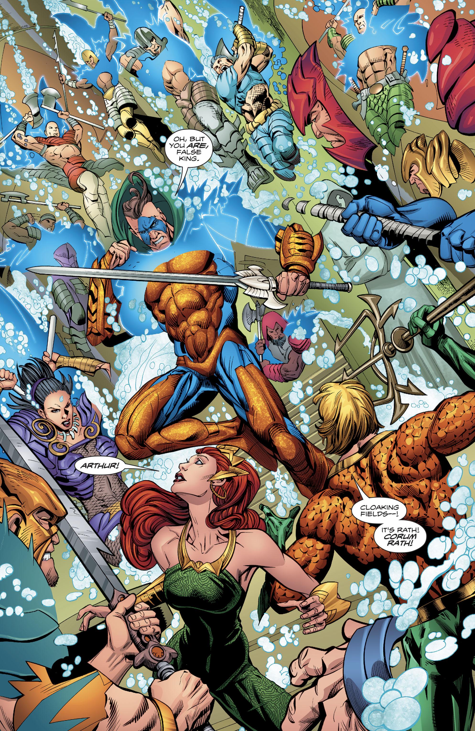 Read online Aquaman (2016) comic -  Issue #23 - 7