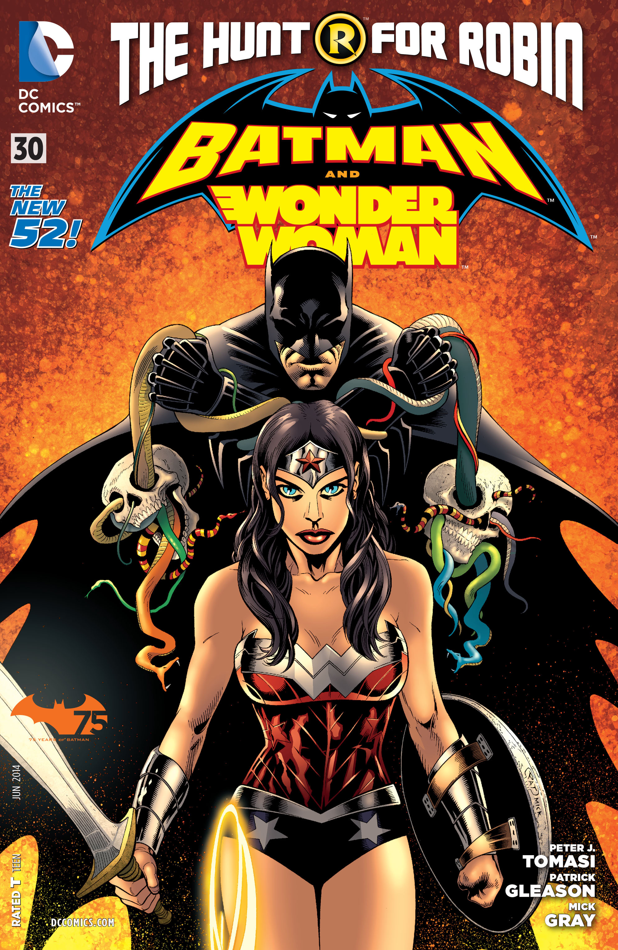 Read online Batman and Robin (2011) comic -  Issue #30 - Batman and Wonder Woman - 1