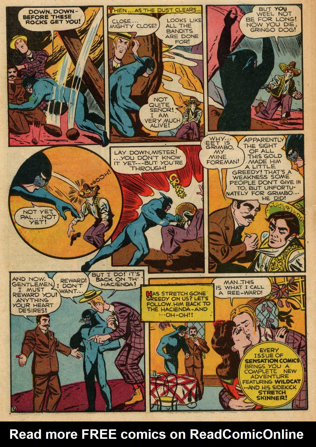 Read online Sensation (Mystery) Comics comic -  Issue #22 - 56