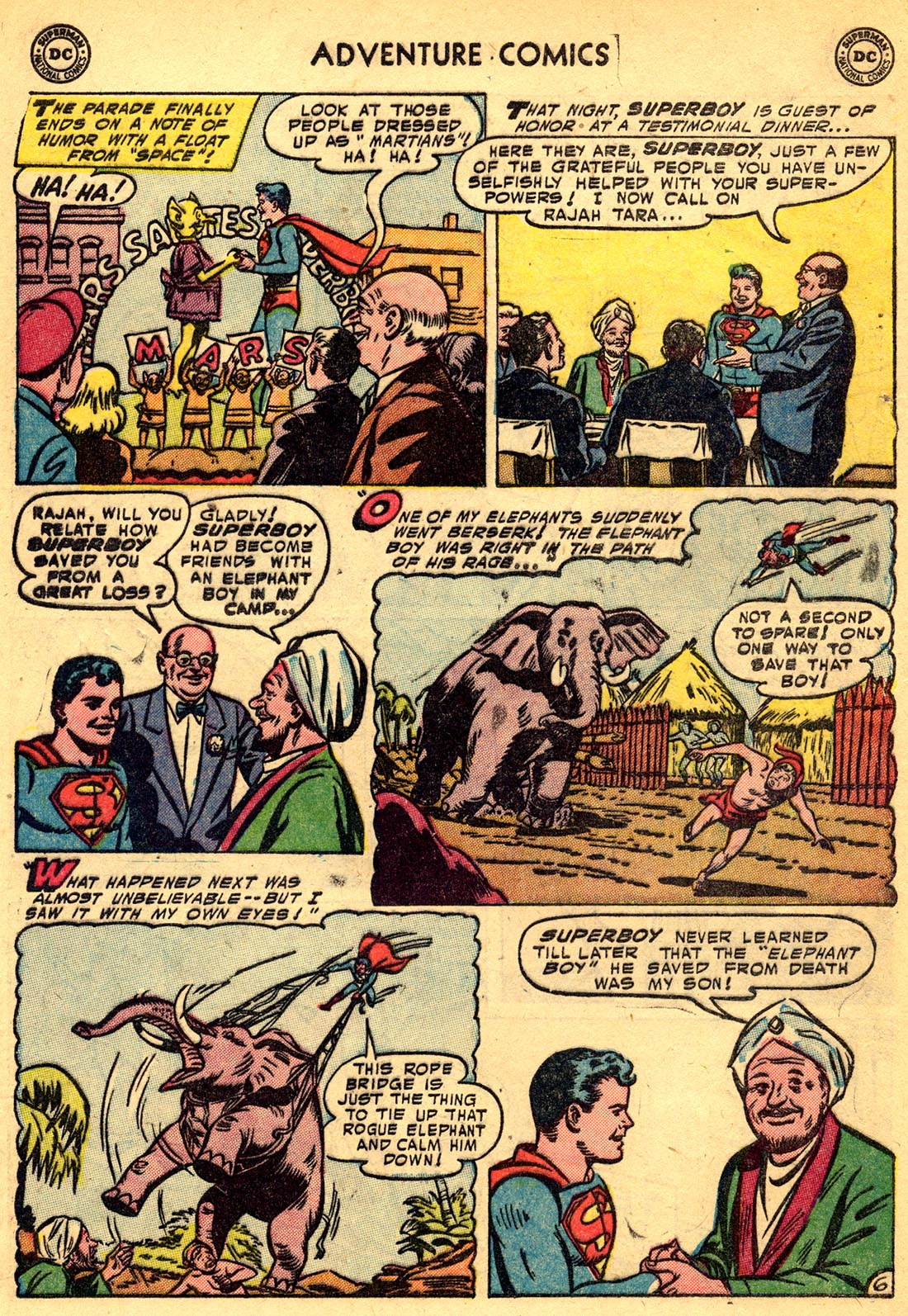 Read online Adventure Comics (1938) comic -  Issue #209 - 8