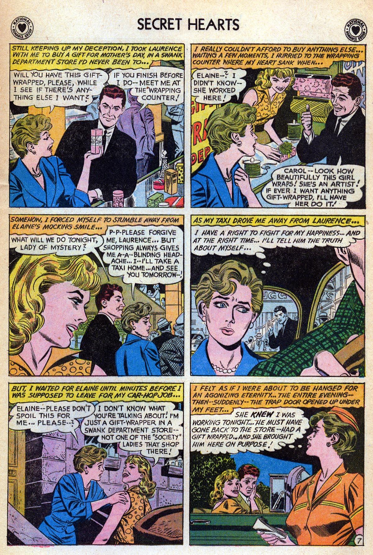 Read online Secret Hearts comic -  Issue #76 - 33