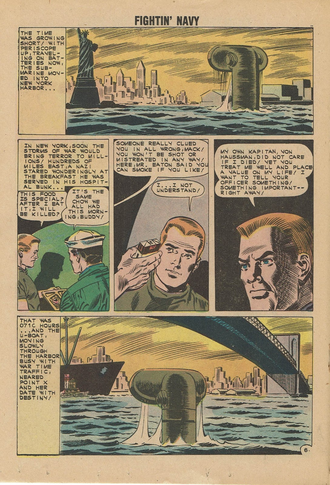Read online Fightin' Navy comic -  Issue #101 - 18